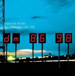 CD Depeche Mode 86>98