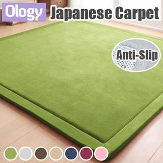 Japanese Premium Carpet Living Room Home Floor Mat Flannel Mattress