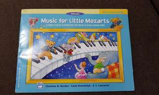Music for Little Mozart Music Lesson Book 3