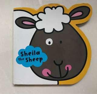 Sheila the sheep board book