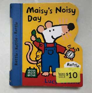 Maisy's noisy day board book