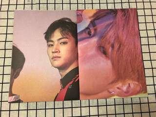 GOT7 EYE ON YOU 歌詞Poster (JB/Mark)