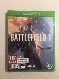 🚚 Xbox One Battlefield 1