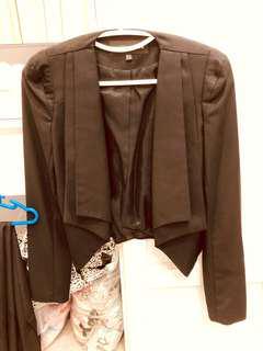 Warehouse black blazer