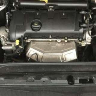 Peugeot 308vti valve cover