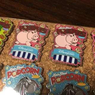 迪士尼徽章 Disney Pin- Toy Story 反斗奇兵 火腿 豬仔