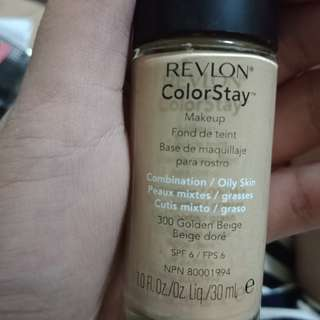 Revlon Colorstay Foundation (Golden Beige)