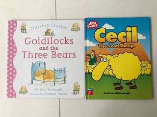 Cecil the lost sheep / Goldilocks and the 3 bears board book