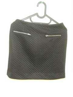 Skirt waffle black