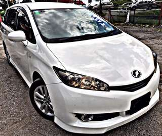 SAMBUNG BAYAR / CONTINUE LOAN  TOYOTA WISH 1.8 VALVE MATIC AUTO