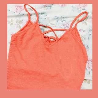 Coral Peach Top