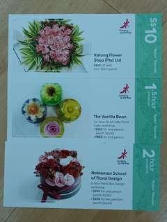 [Free NM] Flower n Floral design vouchers