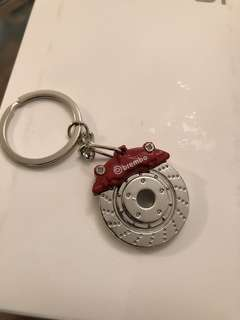 紅色 Brembo 鎖匙扣