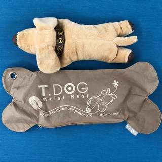 🚚 T.Dog Wrist Cushion Semk Design