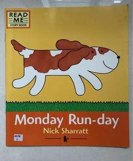 Monday run-day children's book