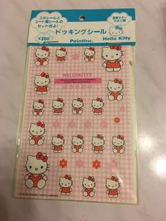 Hello Kitty 貼紙 sanrio