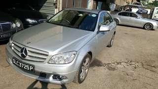 Mercedes C200 W204 2008/9