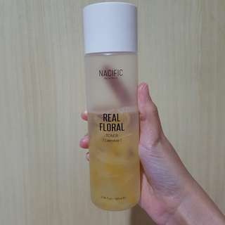 (SHARE 20 ML) Nacific Real Floral Toner Calendula