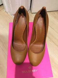 Mulberry brown heels(39號)