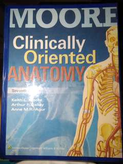 Moore's Clinically Oriented Anatomy 7th ed.