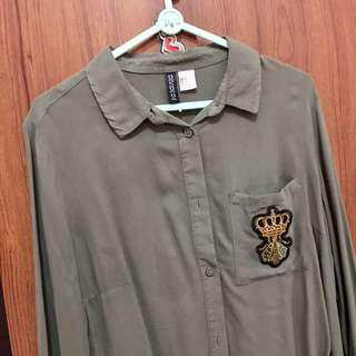 H&m Army Shirt