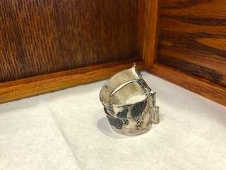 手製銀戒指