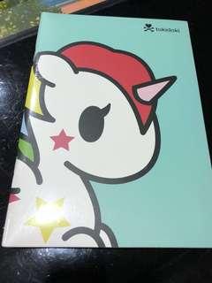 🚚 Tokidoki note book 3 in 1 package