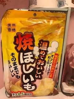 日本番薯乾