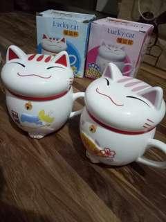 Mug lucky cat