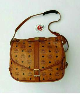 MCM Saumur 30 Shoulder Bag
