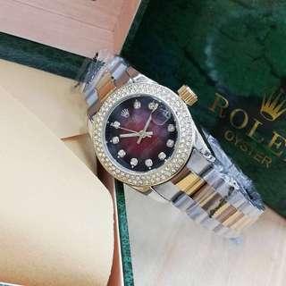 Ladies watch 💋💋  R0LEX 📌DATE 📌LADIES WATCH 📌DIAMOND 📌free box Rolex 📌free postage   Rm95 Percuma penghantaran(Pos Laju) 📫 Nak Cod Pon bleh (KL) 🏍  PM atau Whatsapp sy Tok harga Murah 0126346092