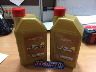 Engine Oil 4T semi syntetic maxoil 10/40