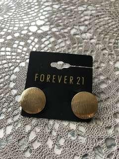 Forever 21 耳環一對