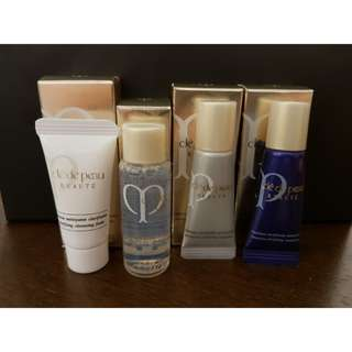 Authentic Cle De Peau Travel Kit