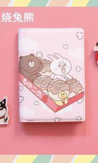 NEW!! Line x Hello Kitty Passport Case