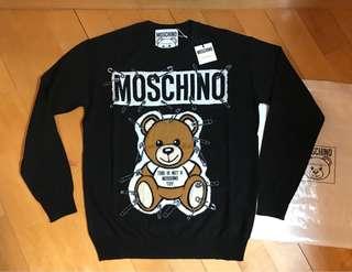 Moschino 最新款扣針 2018 Sweater