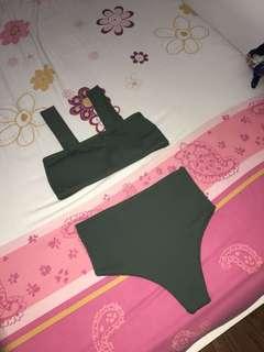 Hikini in Olive Green