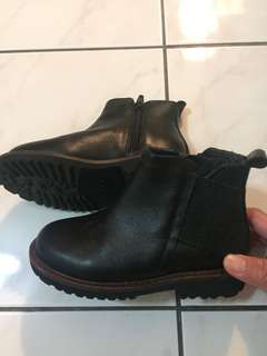 Zara Kids High cut Leather Boots