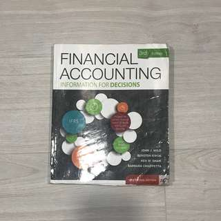 🚚 Financial Accounting Information for Decisions 3rd Edition