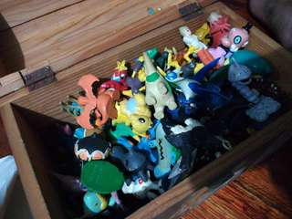 Pokemon and other figurines