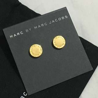 Marc by Marc Jacobs pro disc stud Earrings