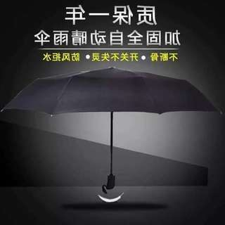 Automatic Umbrella with LED Light