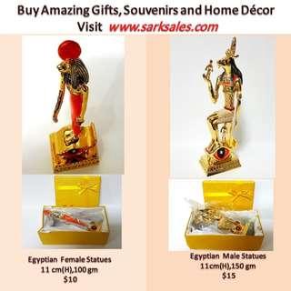 Egyptian metal figurine