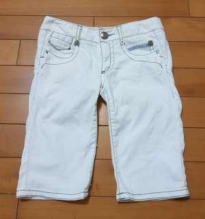 🚚 日本burberry藍標六分牛仔褲(雜誌款)