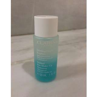 (NEW) Clarins instant eye makeup remover waterproof & heavy make-up