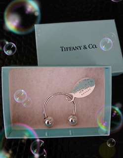 Tiffany純銀鑰匙圈