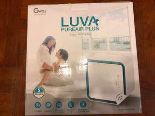 LuvA-Pureair Plus 超離子空氣清新機 (白色) 可議