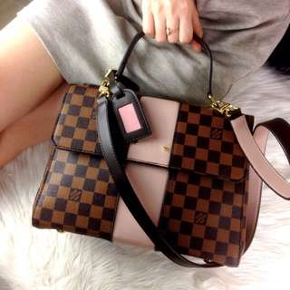 PO.3-5hari. Super quality of Louis Vuitton bag. Size 28x12x20cm. With Box. (LIMITED STOCK). Louis Vuitton seri Bond Street Damier Ebene bag.