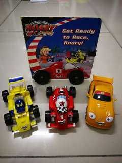 Roary the racing car - set of 3 with book