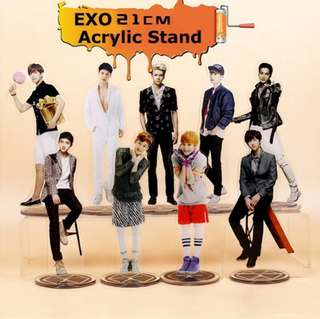EXO Acrylic Standee 21cm tall